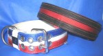 "2"" Flat Collar With Split Stripes"